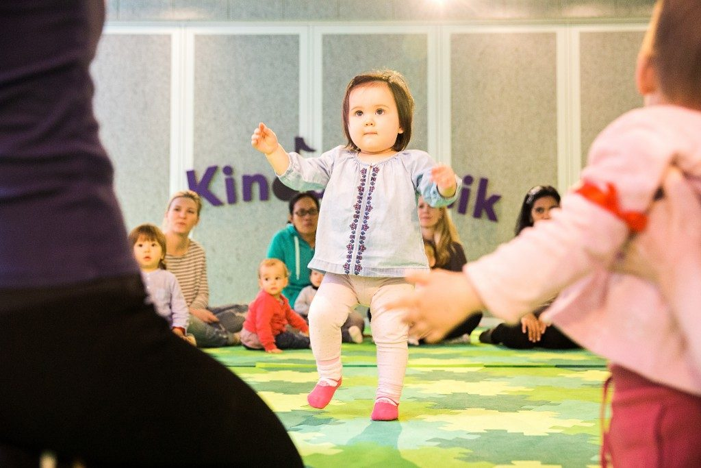 Kindermusik = physical development