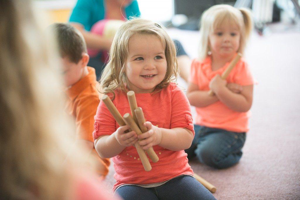 Kindermusik = listening skills