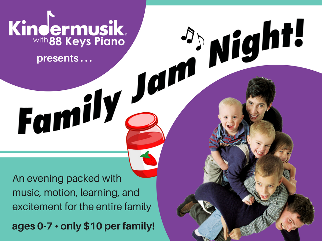 Kindermusik Family Jam Night